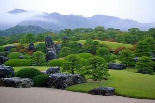 足立美術館 : 一度は訪れてみたかった美術館。日本庭園がとてもキレイです。