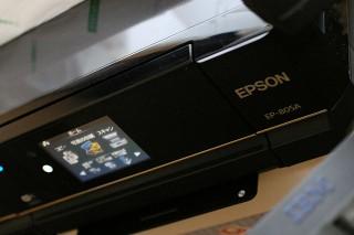 エプソンのEP-805A。年末にCMをがんがん流していたやつですね。