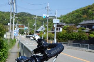 スタート地点の西田橋交差点